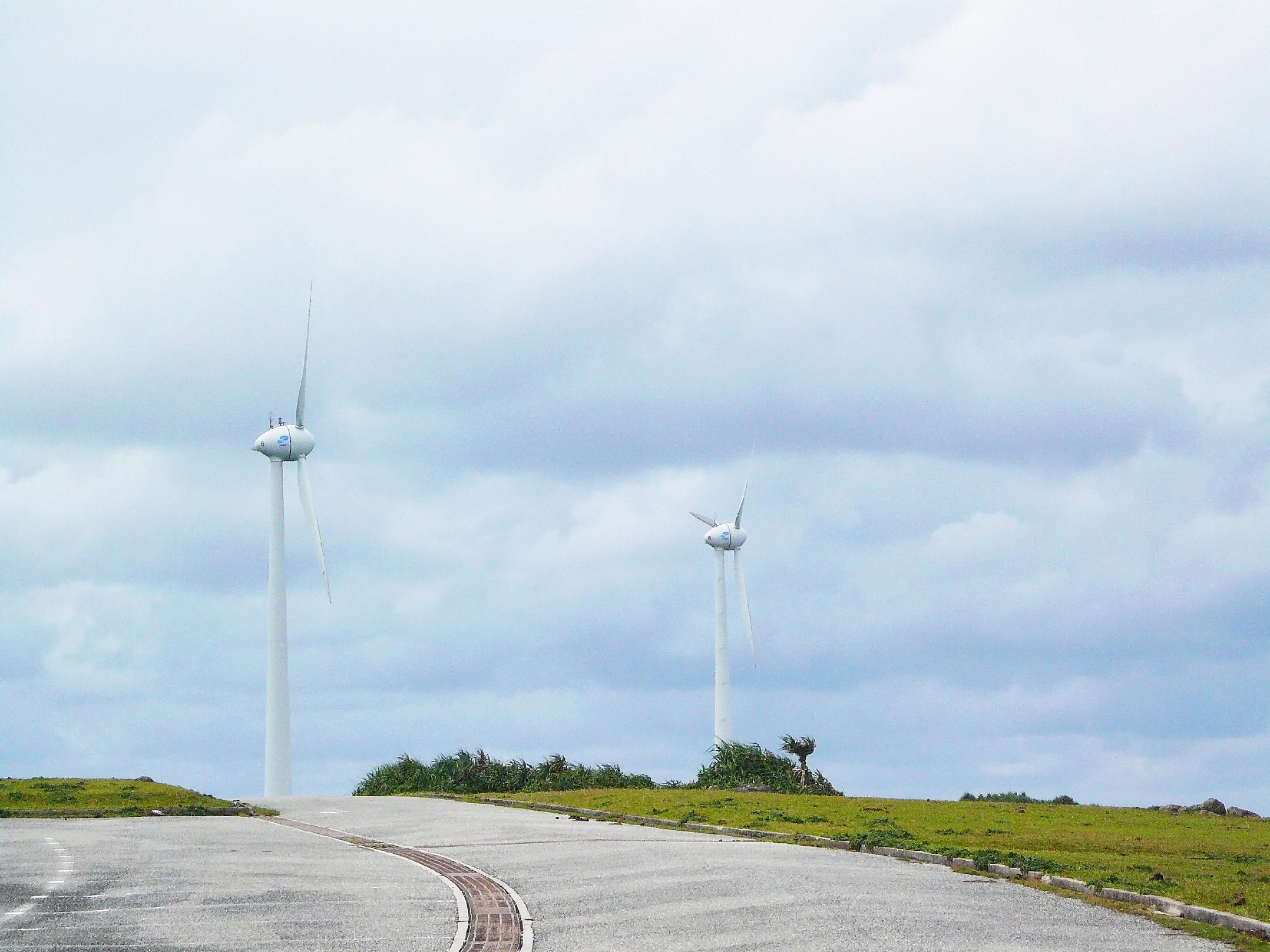 風車フリー写真