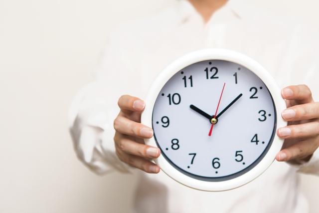 時間の使い方に主体性を発揮して、課題に取り組む